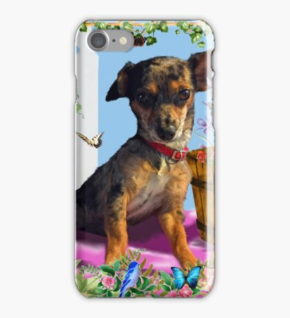 Vixen In The Fantasy GIMP Garden iPhone Case/Skin