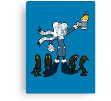 Don't Mess With the Professor Coldheart Canvas Print