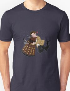 Cute Doctor And Dalek T-Shirt