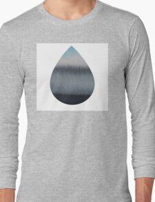 Tear Drop Long Sleeve T-Shirt
