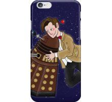 Cute Doctor And Dalek iPhone Case/Skin