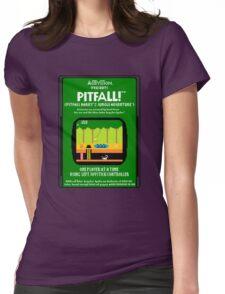 Pixel Pitfall! Womens Fitted T-Shirt