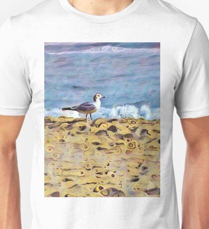 Curvy Beach Unisex T-Shirt