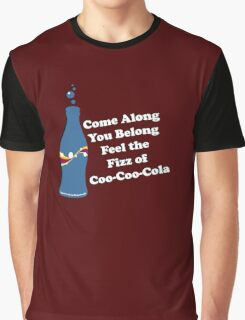 Feel the Fizz Of Coo Coo Cola Graphic T-Shirt