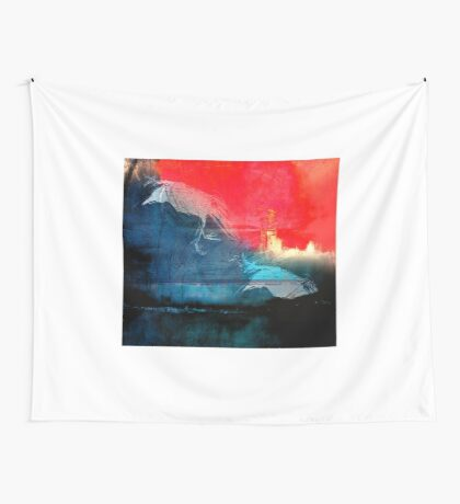 the sunset Wall Tapestry