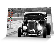 Vehicles - American Hot Rod Greeting Card