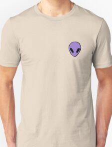 purple alien Unisex T-Shirt