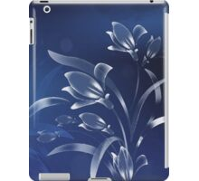 Blue Lilies in the Moonlight iPad Case/Skin
