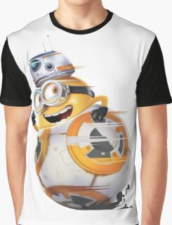 Minion Robot Graphic T-Shirt