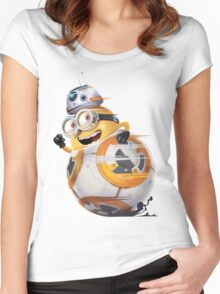Minion Robot Women's Fitted Scoop T-Shirt