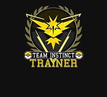 Pokemon Go | Team Instinct Trainer | Black Background | HUGE | New! | High Quality! Unisex T-Shirt