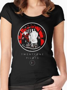 twenty one pilots Women's Fitted Scoop T-Shirt