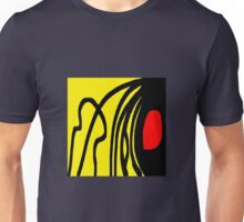 Color red yellow black Unisex T-Shirt