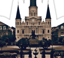 New Orleans Jackson Square Sticker