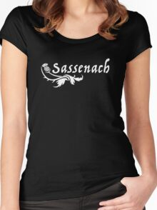 Funny Sassenach Outlander Jamie Women's Fitted Scoop T-Shirt