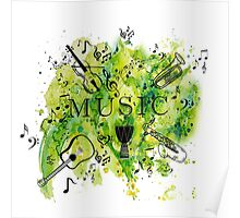 Music Symphony  Poster