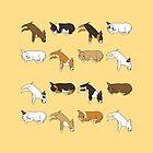 Lazy Bull Terrier - Yellow by Qtea