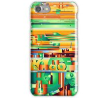 Alien City Forming 9 iPhone Case/Skin