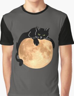 The Black Cat  Graphic T-Shirt