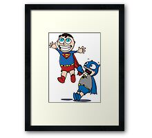 Look I can Fly! Framed Print