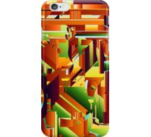 Alien City Puzzle 5 iPhone Case/Skin