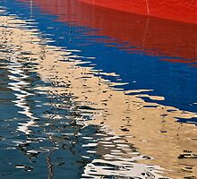 Newly painted in the harbour by awefaul