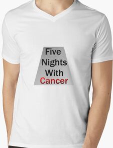 Five Nights With Cancer Mens V-Neck T-Shirt