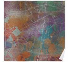 Abstract Subdued Colors 2 Poster
