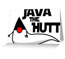 Java The Hutt - Star Wars Greeting Card