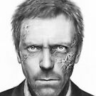 Dr. Gregory House, Hugh Laurie, Portrait Art, House MD by OlechkaDesign
