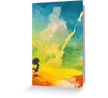 Stratosphere Dreams Greeting Card