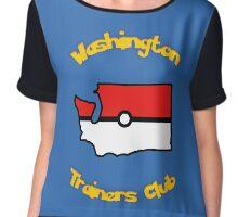 Washington Trainers Club Chiffon Top