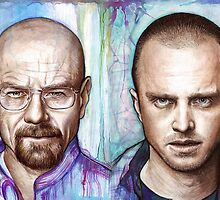 Walter and Jesse - Breaking Bad by OlechkaDesign