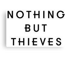 Nothing But Thieves - Black Canvas Print