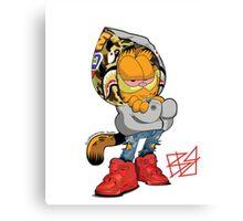 Garfield Bape Canvas Print
