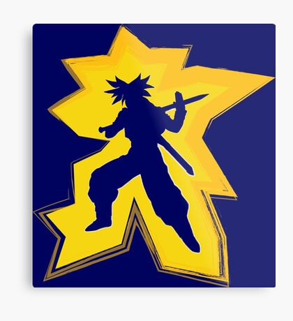 Super Saiyan Trunks Metal Print