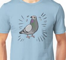 Frantic Pigeon Friend Unisex T-Shirt