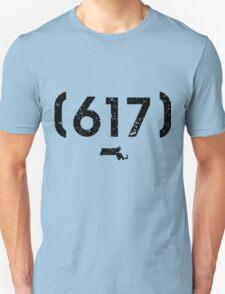 Area Code 617 Massachusetts Unisex T-Shirt
