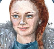 Who Run Westeros? Girls: Sansa Sticker
