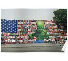 Hulk and America Poster