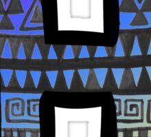 Letter H 3 Sticker
