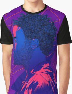Gambino Neon Lights Graphic T-Shirt