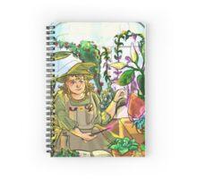 Professor Sprout Spiral Notebook