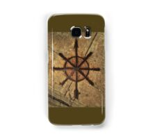 sidewalk compass Samsung Galaxy Case/Skin
