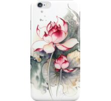 """""""Under the Care"""" from the series """"In the Lotus Land"""" iPhone Case/Skin"""