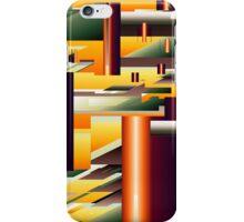 Alien King's Village iPhone Case/Skin