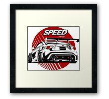 Toyota Sport car Framed Print