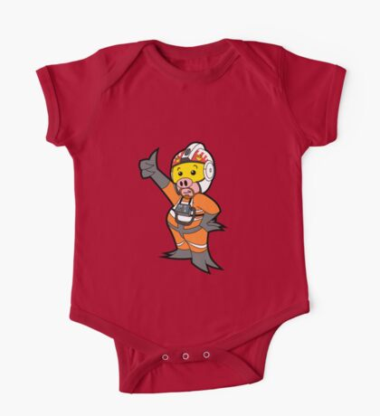 Leave it to Porkins  One Piece - Short Sleeve