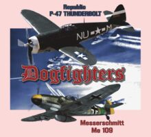 Dogfighters: P-47 vs Me109 Kids Tee