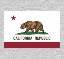 US State- California Flag by cadellin